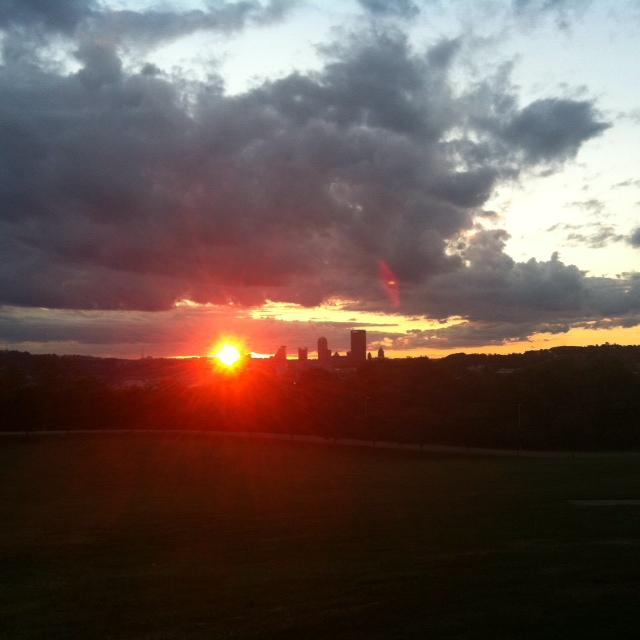 Pburgh sunset